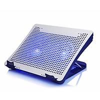 iDock N1-2 Çift 14cm Fan Mavi Led Alüminyum 15.6