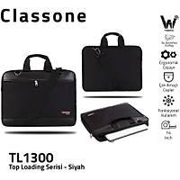 Classone TL1300 13 inç Notebook El Çantasý-Siyah