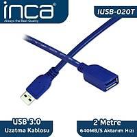 INCA IUSB-020T USB TO USB 3,0 2 METRE UZATMA KABLOSU