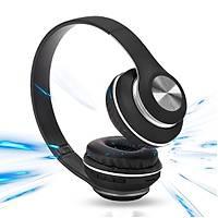 FitPlus PV33S Kafa Bantlý MicroSd Kablosuz Bluetooth Kulaklýk Siyah