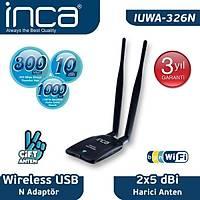 Inca IUWA-326N 300 Mbps Mini USB Wireless Adapter