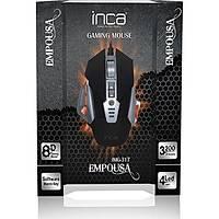 Inca IMG-317 3200 Dpý  Metal  8D Gaming Oyuncu Mouse +Mouse Pad