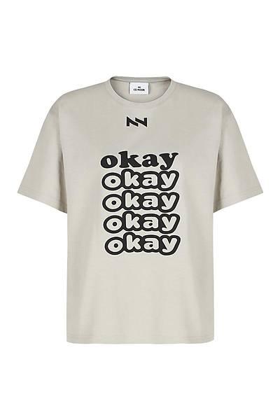 Okay Unisex Kýsa Kollu T-Shirt