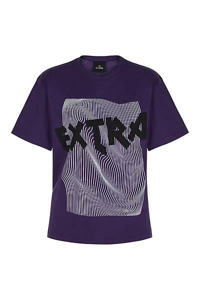 Extra Unisex Kýsa Kollu T-Shirt