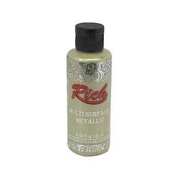 Rich Multisurface Metalik Akrilik Boya 6516 Bal Köpüðü 130 Ml