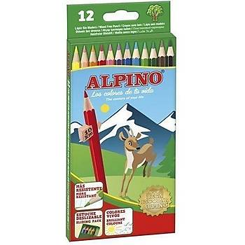 Alpino 12 li Kuru Boya Karton Kutu