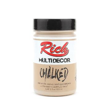 Rich Multi Decor Chalked 4582 Antik Kahve
