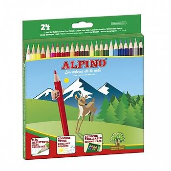 Alpino 24 lü Kuru Boya