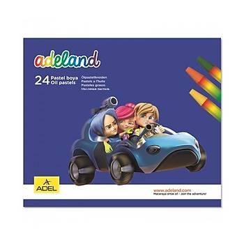 Adeland 24 Renk Pastel Boya