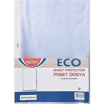 Temat Eco A4 Delikli 100`lü Poþet Dosya