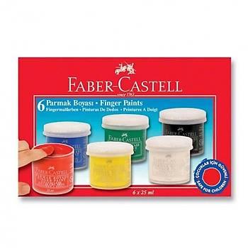 Faber Castell Parmak Boyasý 6 Renk