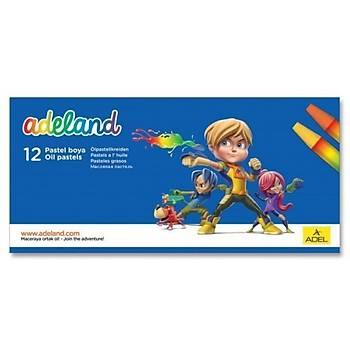 Adeland 12 Renk Pastel Boya
