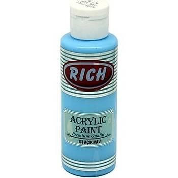 Rich Akrilik Boya 174 - Açýk Mavi 130 cc