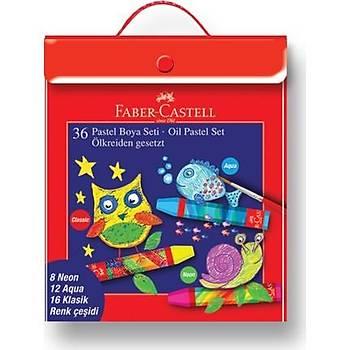 Faber-Castell Pastel Boya 36'lý Plastik Karýþýk Set