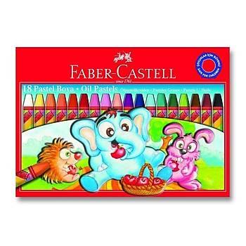 Faber Castell Karton Kutu Pastel Boya 12 Renk