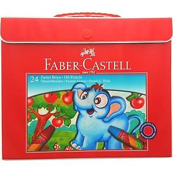 Faber Castell 24 lü Pastel Boya Karton Kutu