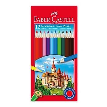 Faber-Castell Kuru Boya Kalemi 12 Renk