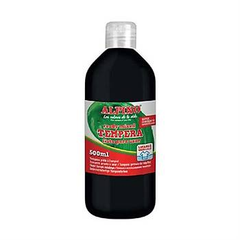 Alpino DM-010183 Tempera Sulu Boya 500 Ml Siyah
