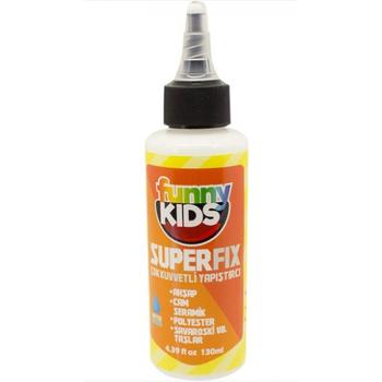 Funny Kids Superfix Çok Kuvvetli Yapýþtýrýcý 130 ml
