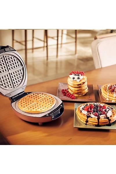 Karaca Funday Pink Tek Plaka Waffle Makinesi