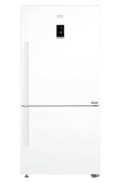 Beko 684630 EB A++ 493 lt Çift Kapýlý Kombi Tipi Buzdolabý Beyaz