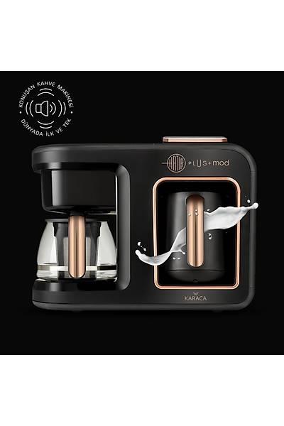 Karaca Hatýr Plus Mod 5 in 1 Kahve Ve Çay Makinesi Black Copper