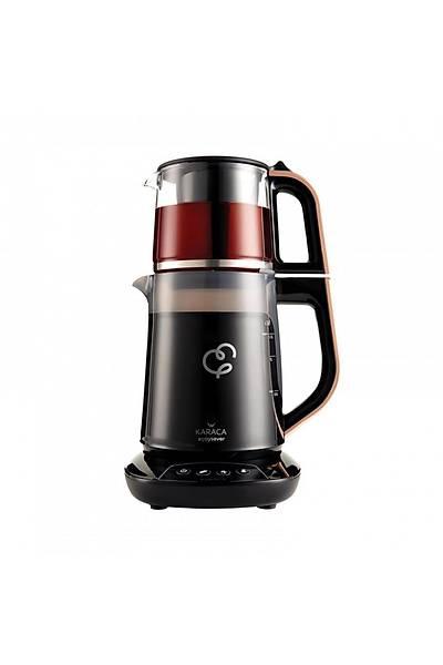Karaca Çaysever Konuþan Çay Makinesi - Rosegold