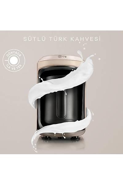 Karaca Hatýr Hüps Sütlü Türk Kahve Makinesi - Bej