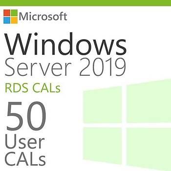 Windows Server 2019 Remote Desktop Services (RDS)–50 User CALL