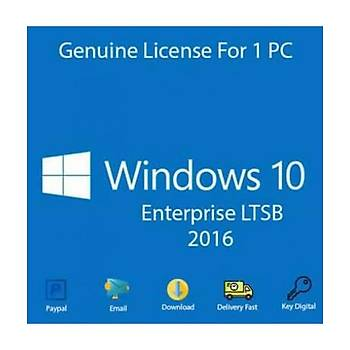 Windows 10 Enterprise 2016 LTSB Dijital Lisans BÝREYSEL KURUMSAL