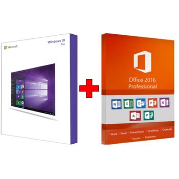 Orjinal Windows 10 Professional& Office 2016 Professional FPP Kurumsal Lisans