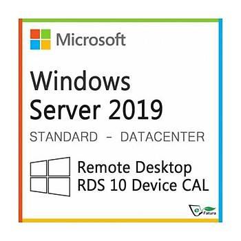 Orijinal Microsoft Windows Server 2019 RDS CALL 10 Kullanýcý BÝREYSEL
