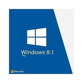 Windows 8.1 Pro Dijital Lisans Anahtarý 32&64 Bit