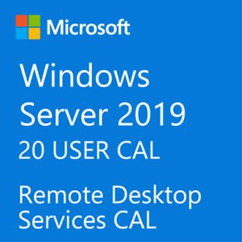 Windows Server 2019 STANDART  -  20 User CALL