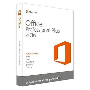 Office 2016 Pro Plus Süresiz Dijital Lisans Anahtarý Key 32&64 Bit