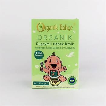 Organik Prebiyotikli Ruþeymli Bebek Ýrmik 250 Gr. +8 Ay ve Üzeri