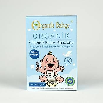 Organik Bahçe Organik Glutensiz Bebek Pirinç Unu 250g