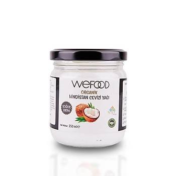 Wefood Organik Hindistan Cevizi Yaðý 150 ml.