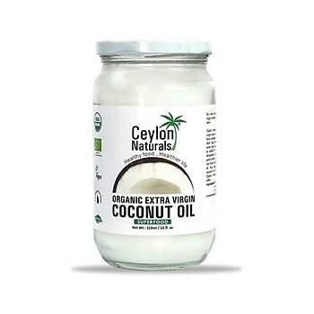 Ceylon Organik Hindistan Cevizi Yaðý Naturals Coconut Oil 310 ml