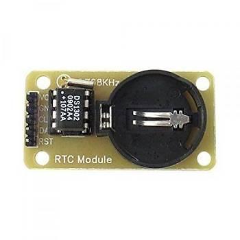 RTC Modül - DS1302 Gerçek Zamanlý Saat Devresi Modülü