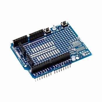 Mini Breadboardlu Arduino UNO R3 Proto Shield Kiti