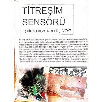 Titreþim Sensörü (Piezo Kontrollü) (Demonte)