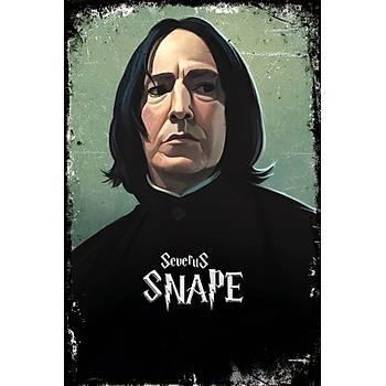 Snape Retro Ahþap Poster 30x20