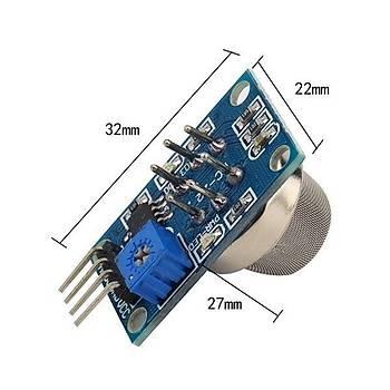 Yanýcý Gaz ve Sigara Dumaný Sensör Kartý - MQ2