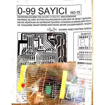 0-99 Sayýcý Devresi (Ýleri-Geri-Reset Demonte)