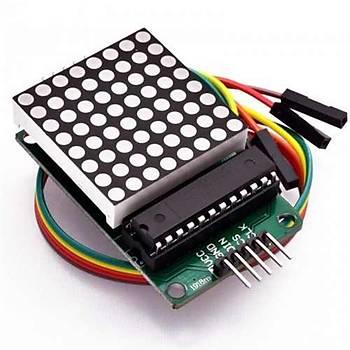 Arduino MAX7219 Dot matrix Modülü 8x8