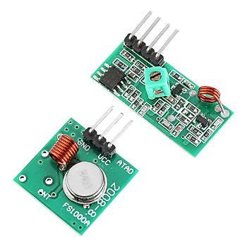 Arduino 433MHz Alýcý Verici Modül RF