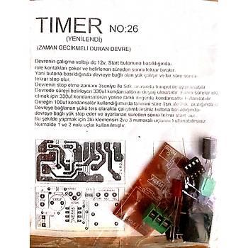 Timer Zamanlayýcý (Buton ile Start Demonte)