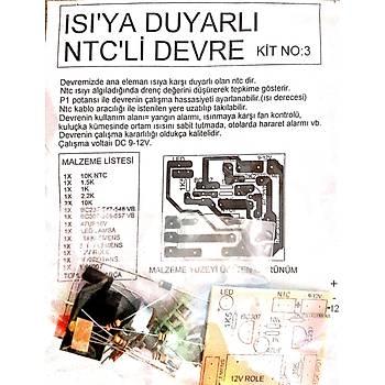 Isýya Duyarlý NTCli Devre (Demonte)
