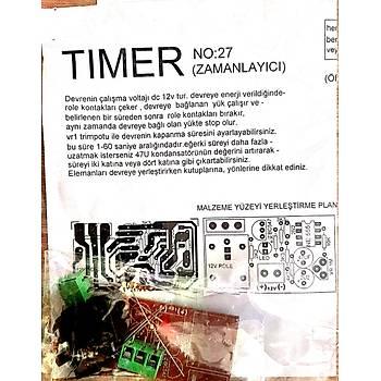 Timer Zamanlayýcý (Enerji ile Start Demonte)